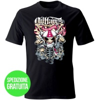 tshirt-bone-to-ride-nero-fronte